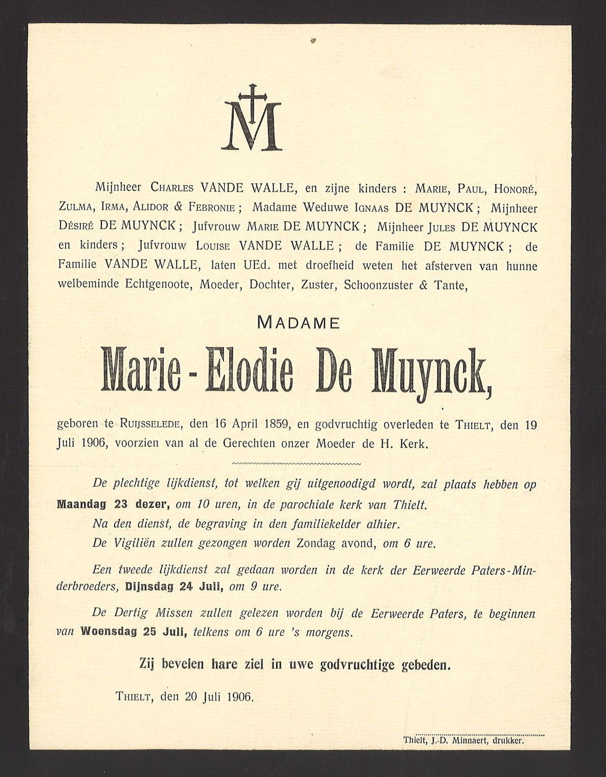 Marie-Elodie De Muynck