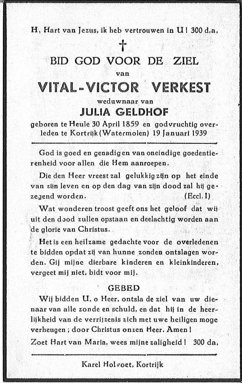 Vital-Victor Verkest