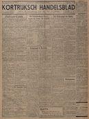 Kortrijksch Handelsblad 20 januari 1945 Nr6 p1