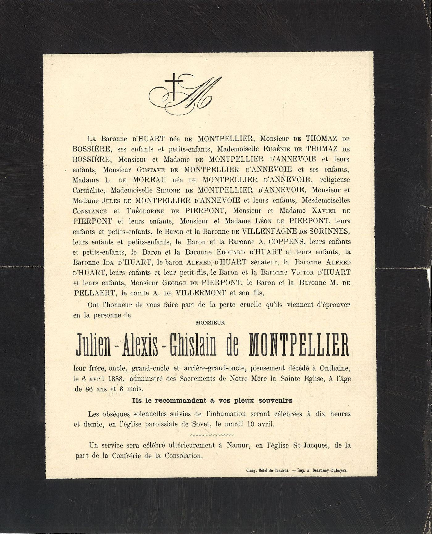 Julien-Alexis-Ghislain de Montpellier