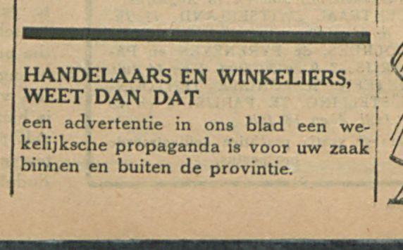 HANDELAARS EN WINKELIERS