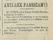 AVIS-AUX FABRICANTS