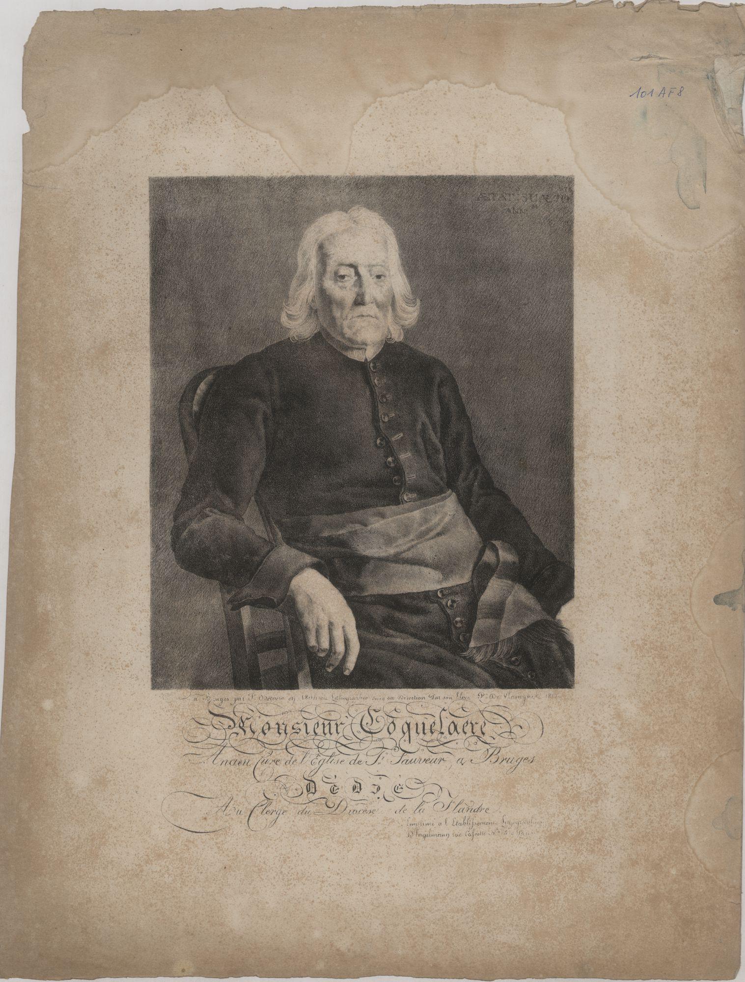 Westflandrica - Portret van de pastoor Coquelaere