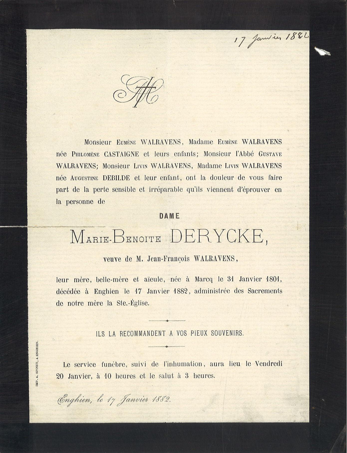 Marie-Benoite Derycke