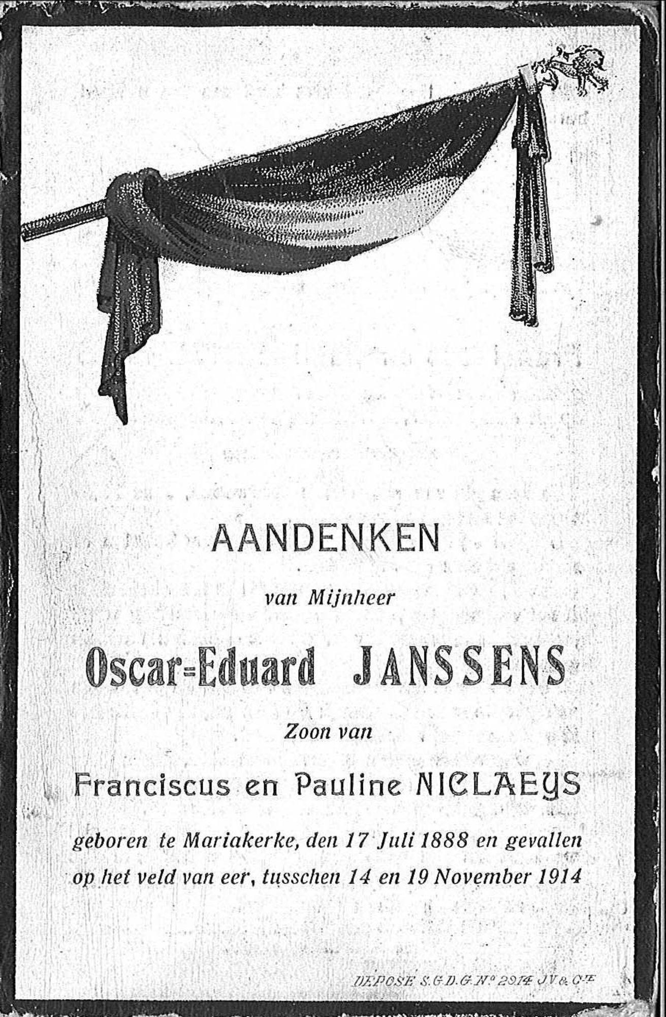 Oscar-Eduard Janssens