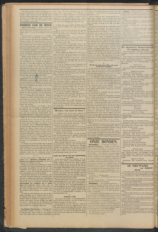 Het Kortrijksche Volk 1913-09-21 p2