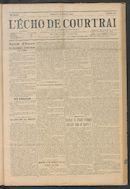 L'echo De Courtrai 1914-10-04