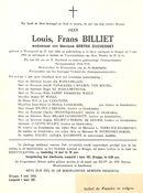 Billiet Louis Frans
