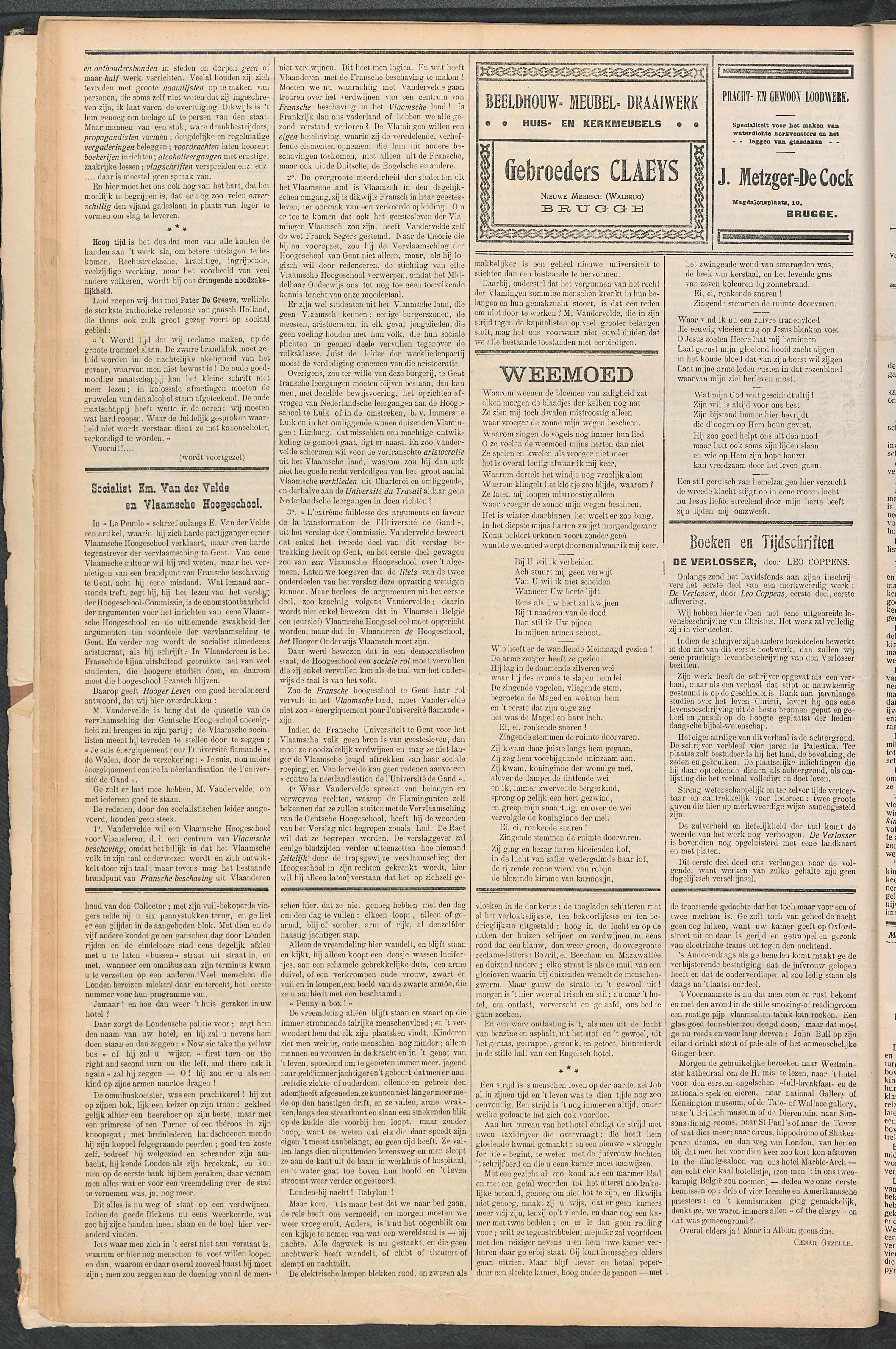 Het Kortrijksche Volk 1911-03-19 p6