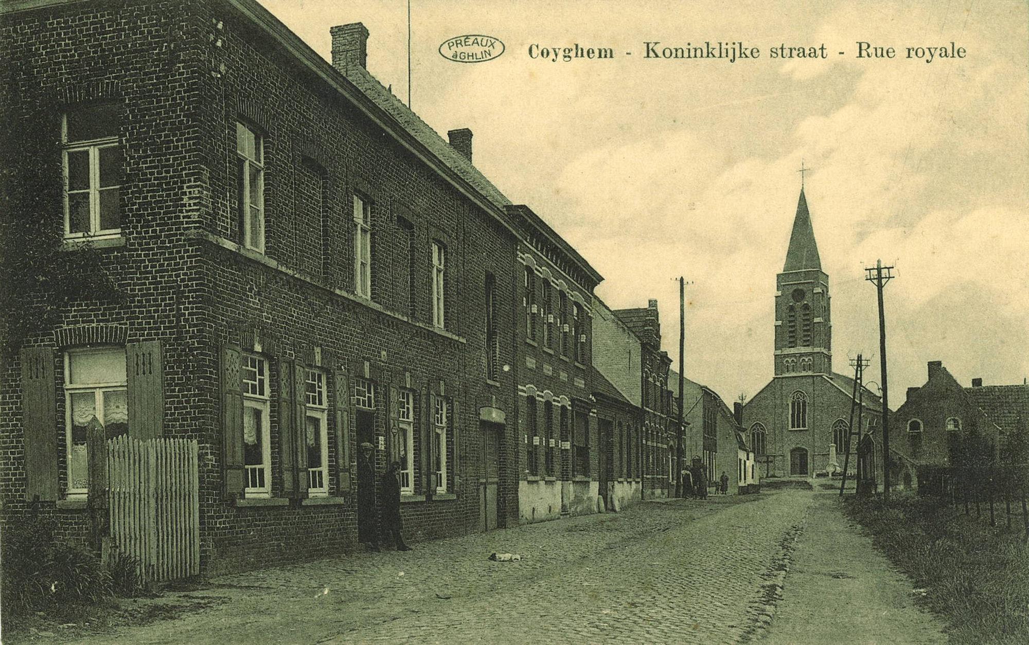 Kooigem Koninklijke straat