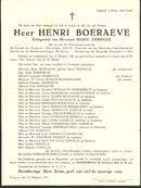 Boeraeve Henri