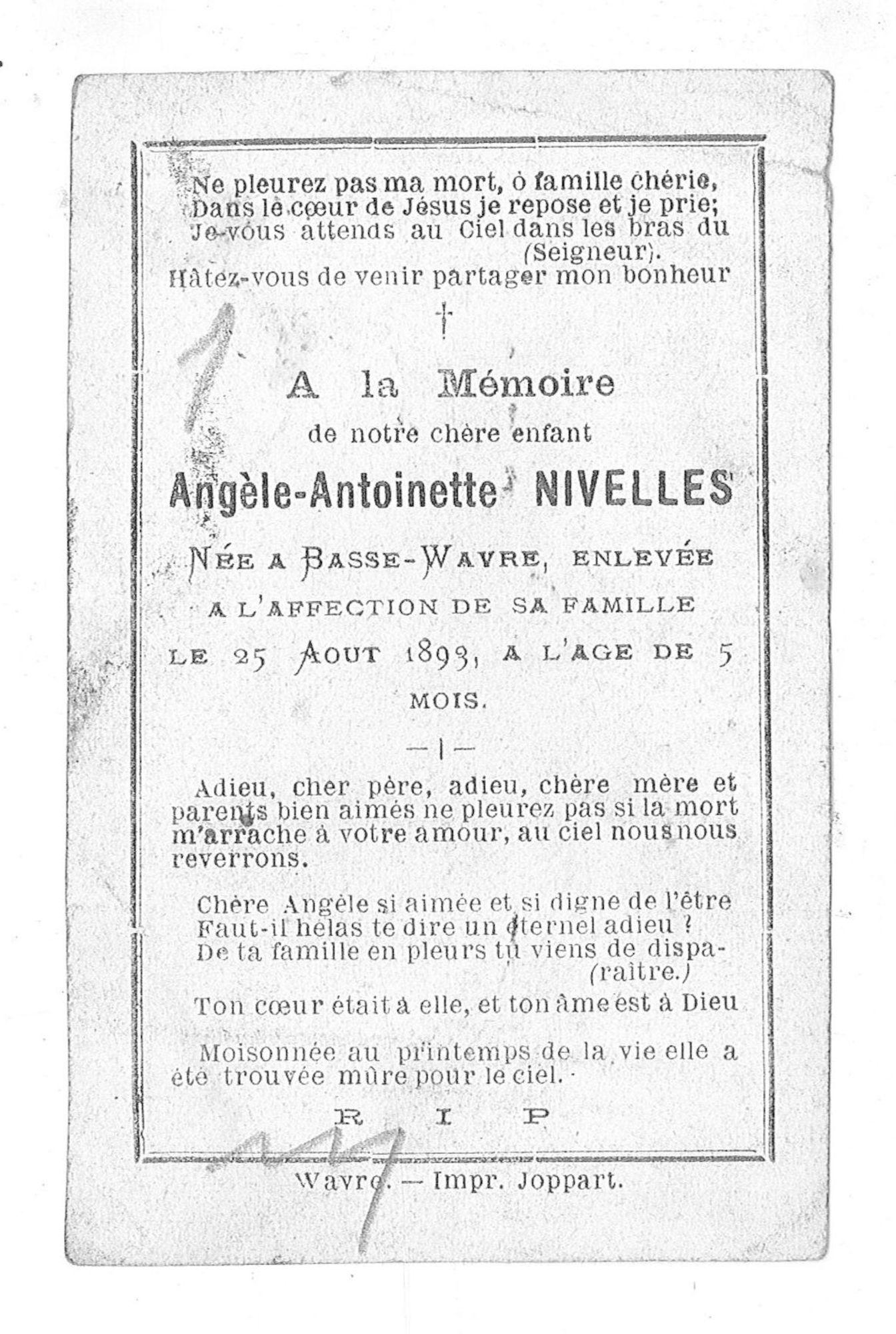 Angèle-Antoinette Nivelles