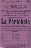 """Paasfoor 1899: Opvoering van """"La Périchole"""""""