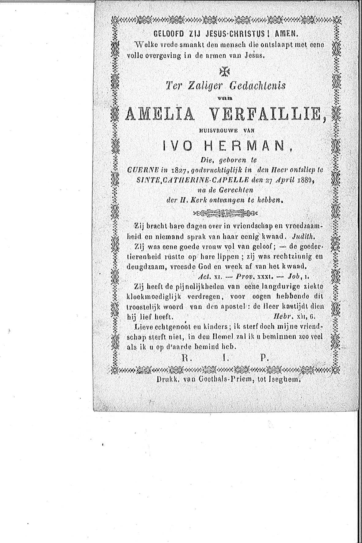 Verfaillie Amelia