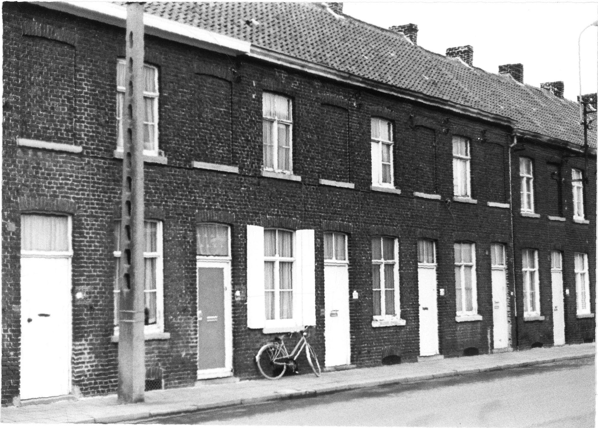 Werkmanshuisjes in de Stasegemsestraat