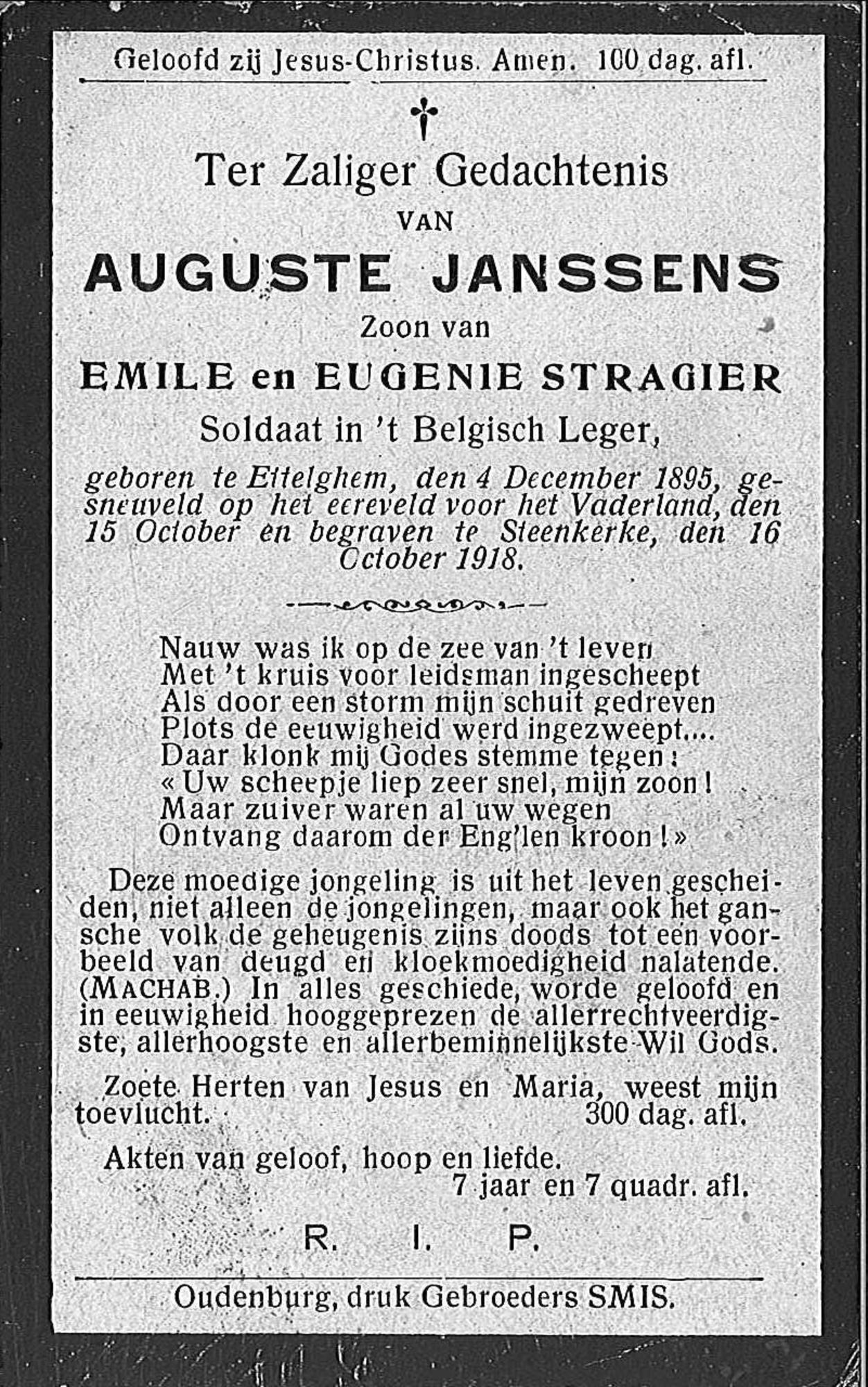 Auguste Janssens