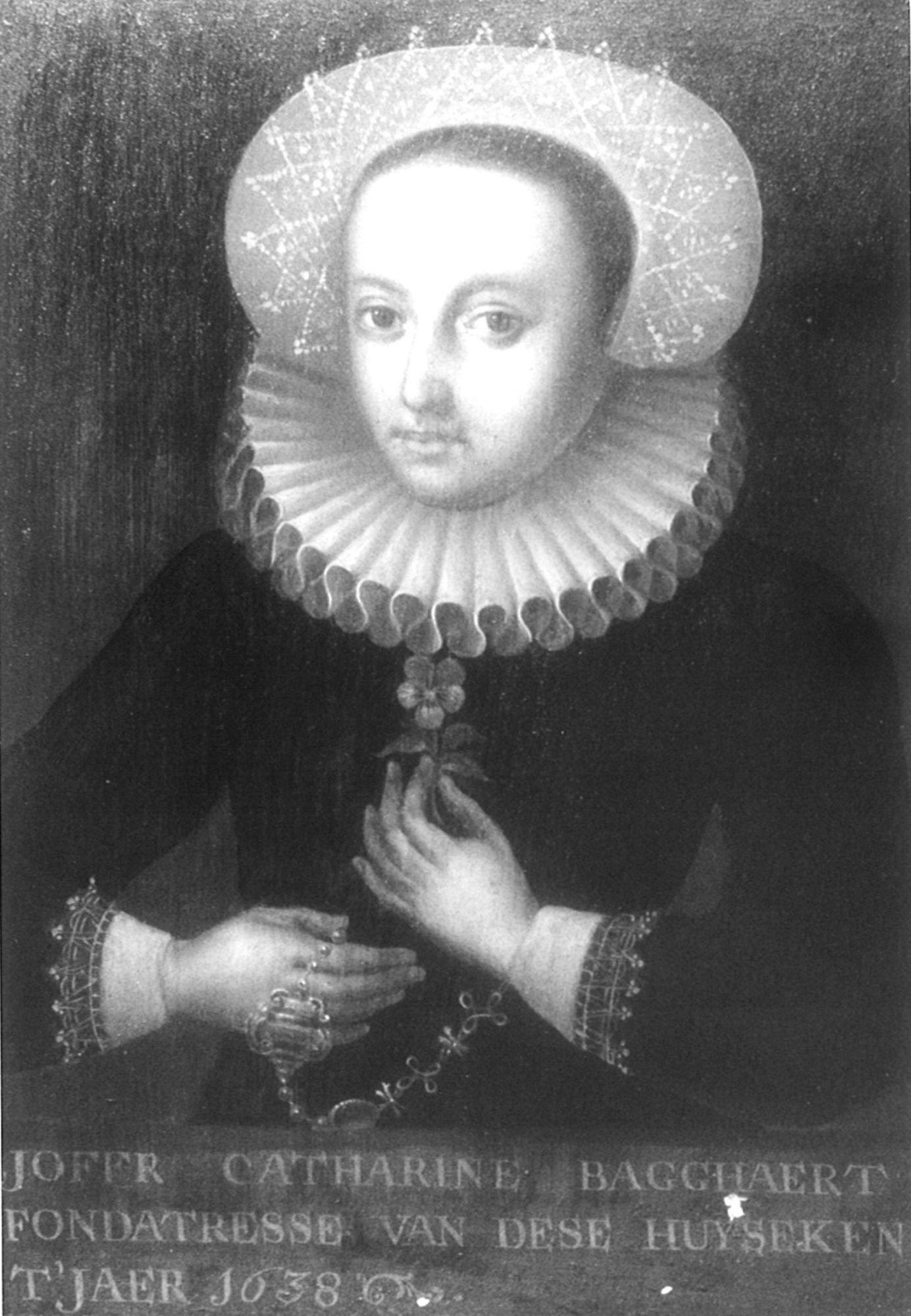 Portretschilderij Catharine Bagghaert