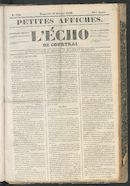 L'echo De Courtrai 1849-10-21