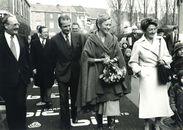 Bezoek prinsenpaar aan Kortrijk 1976