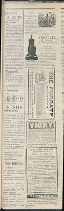 L'echo De Courtrai 1884-12-14 p3