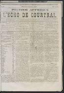 L'echo De Courtrai 1873-02-09
