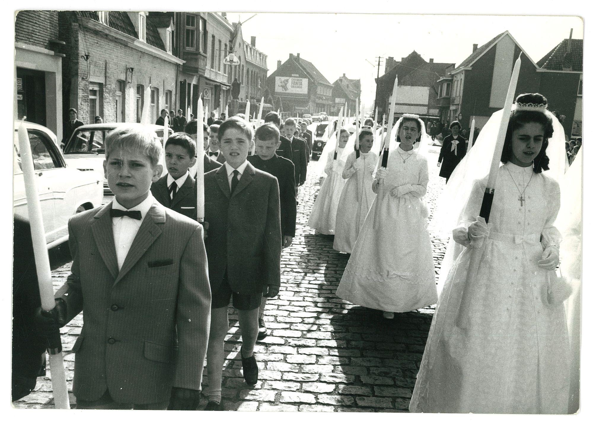 Plechtige Communieviering 1968