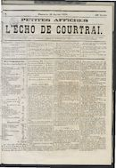 L'echo De Courtrai 1873-01-26
