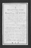 Marie-Elise De Witte