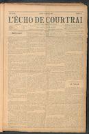 L'echo De Courtrai 1911-01-12