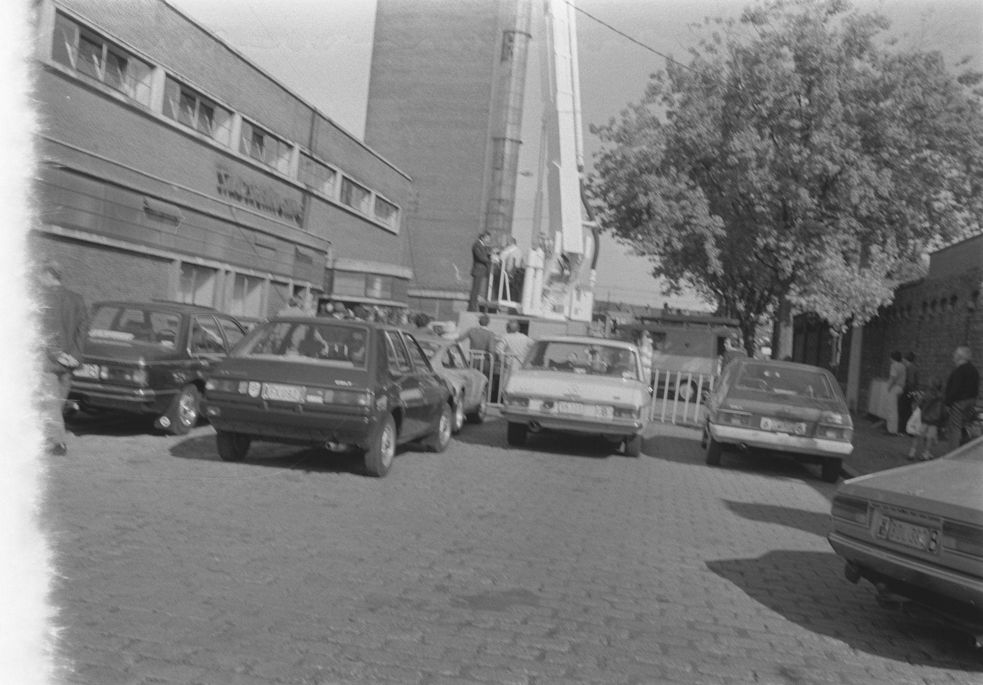Brandweerkazerne in de Rijkswachtstraat