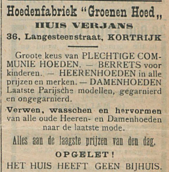 Hoedenfabriek Groenen Hoed