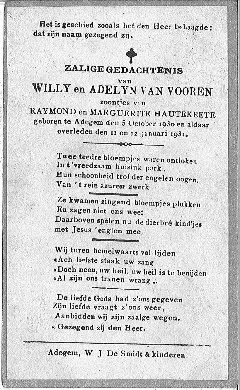 Willy en Adelyn Van Vooren