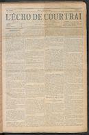 L'echo De Courtrai 1910-01-06