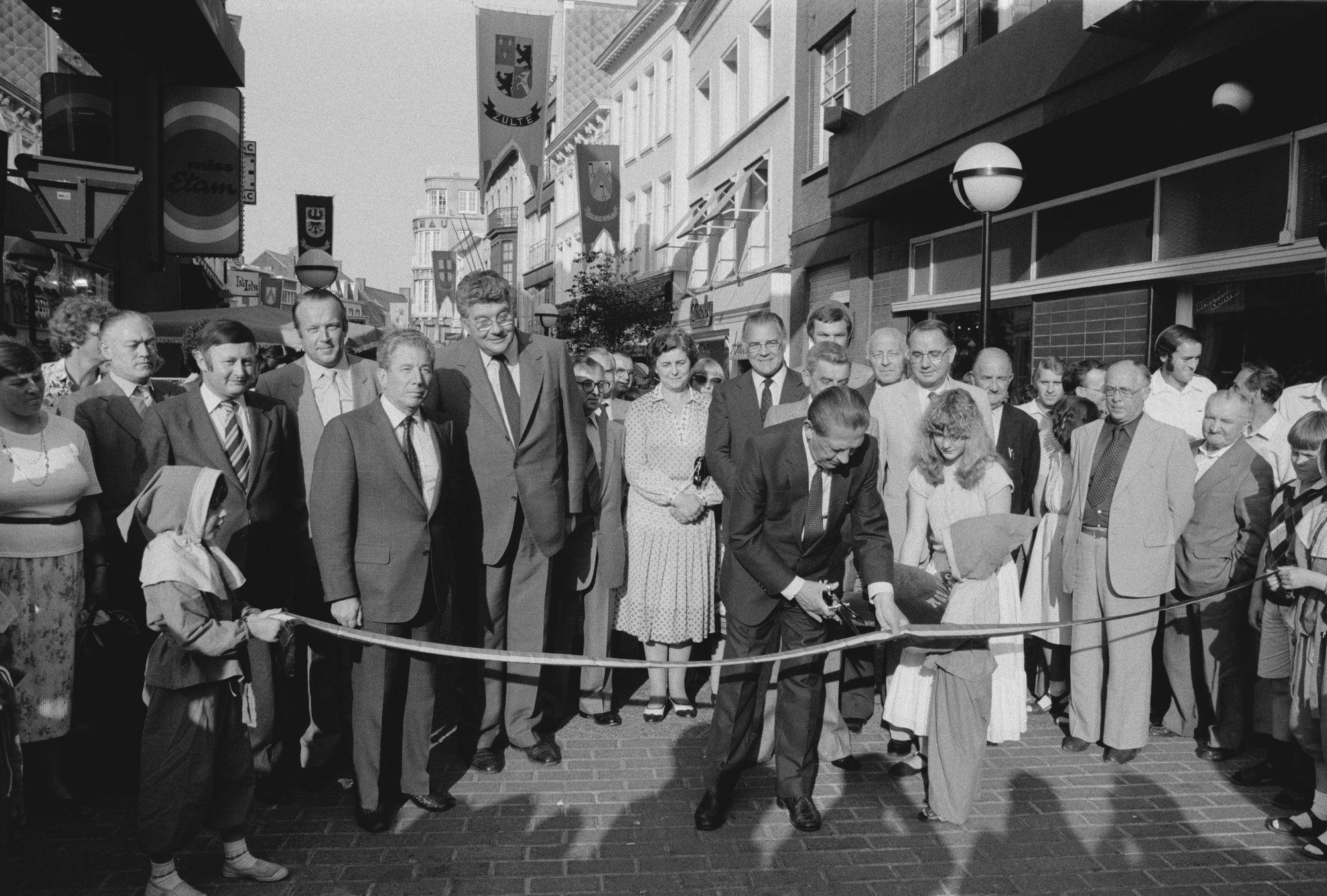 Opening braderie centrum