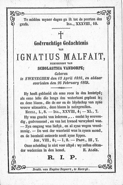 Ignatius Malfait