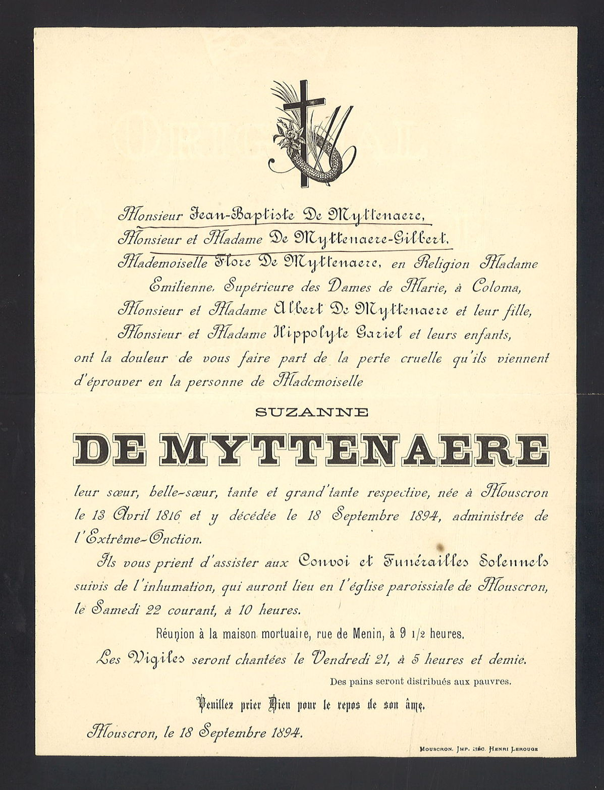 Suzanne De Myttenaere