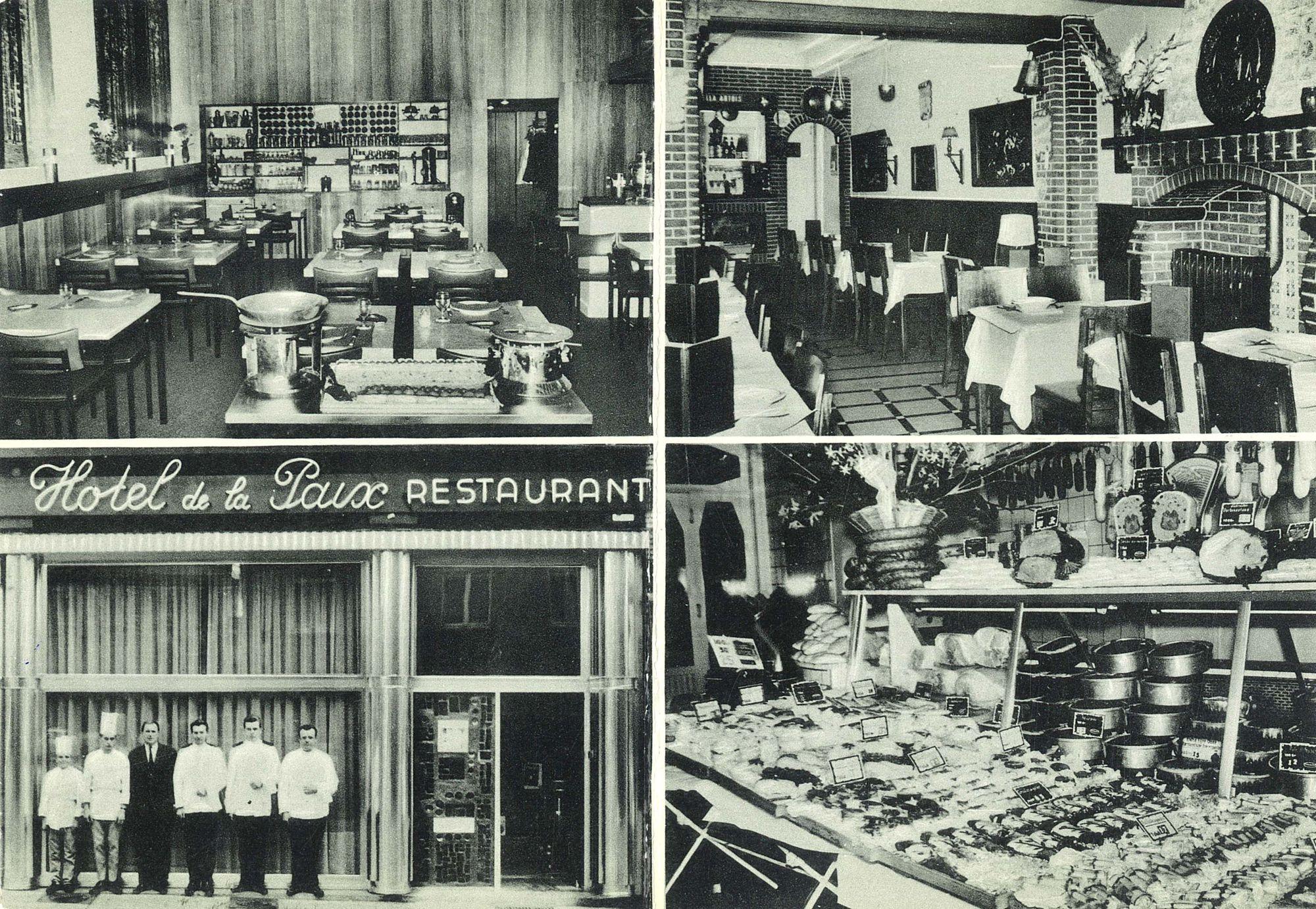 """Hotel - Restaurant """"De La Paix"""" 1975"""
