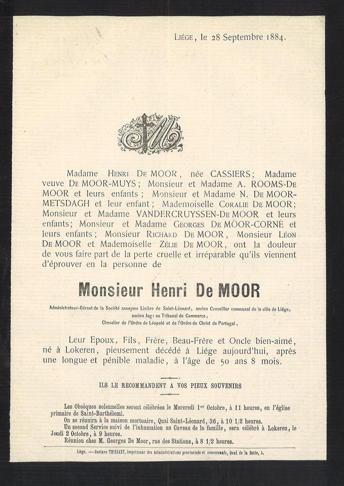 Henri De Moor