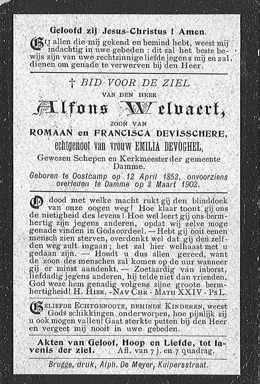 Alfons Welvaert