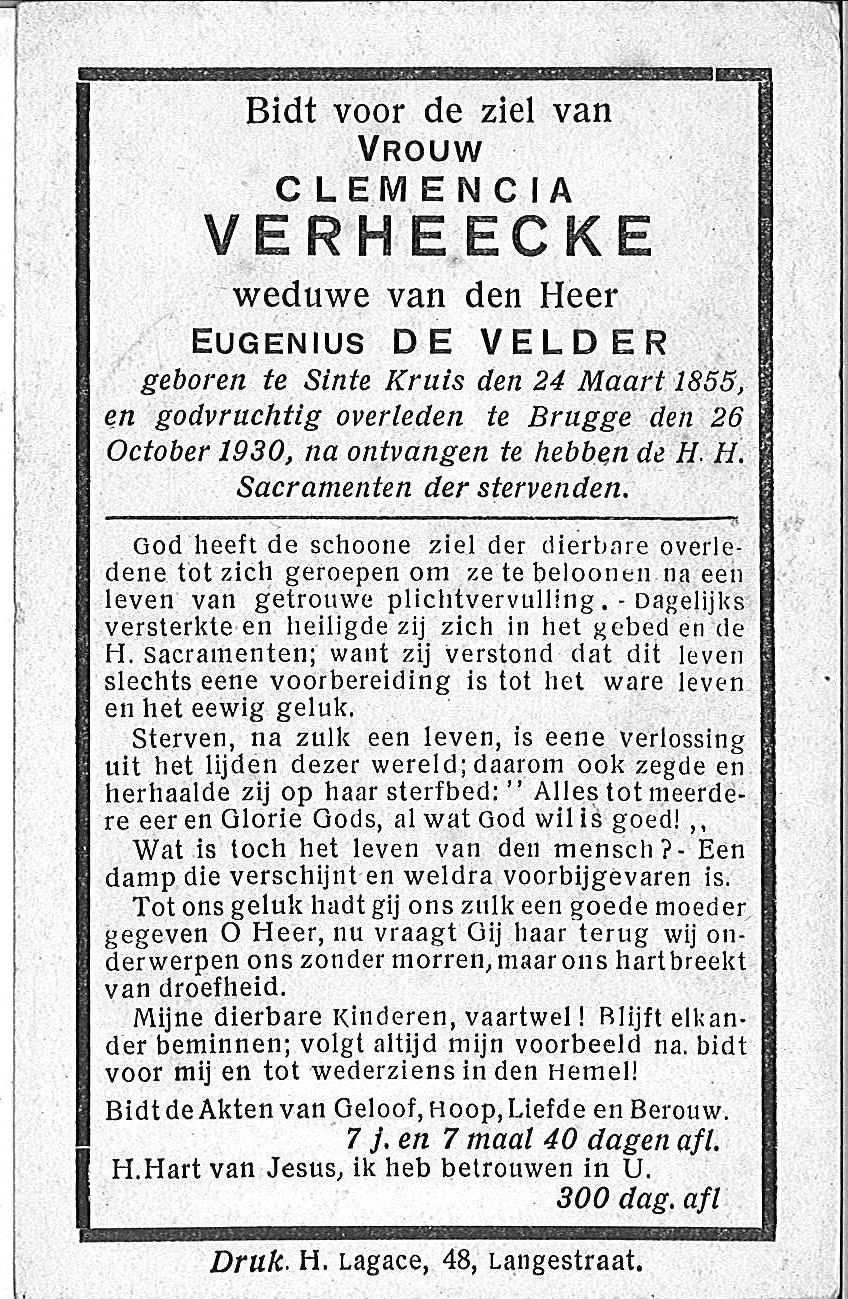 Clemencia Verheecke