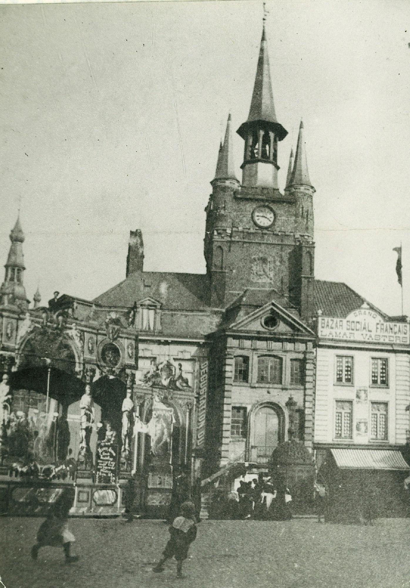 Paasfoor in 1895