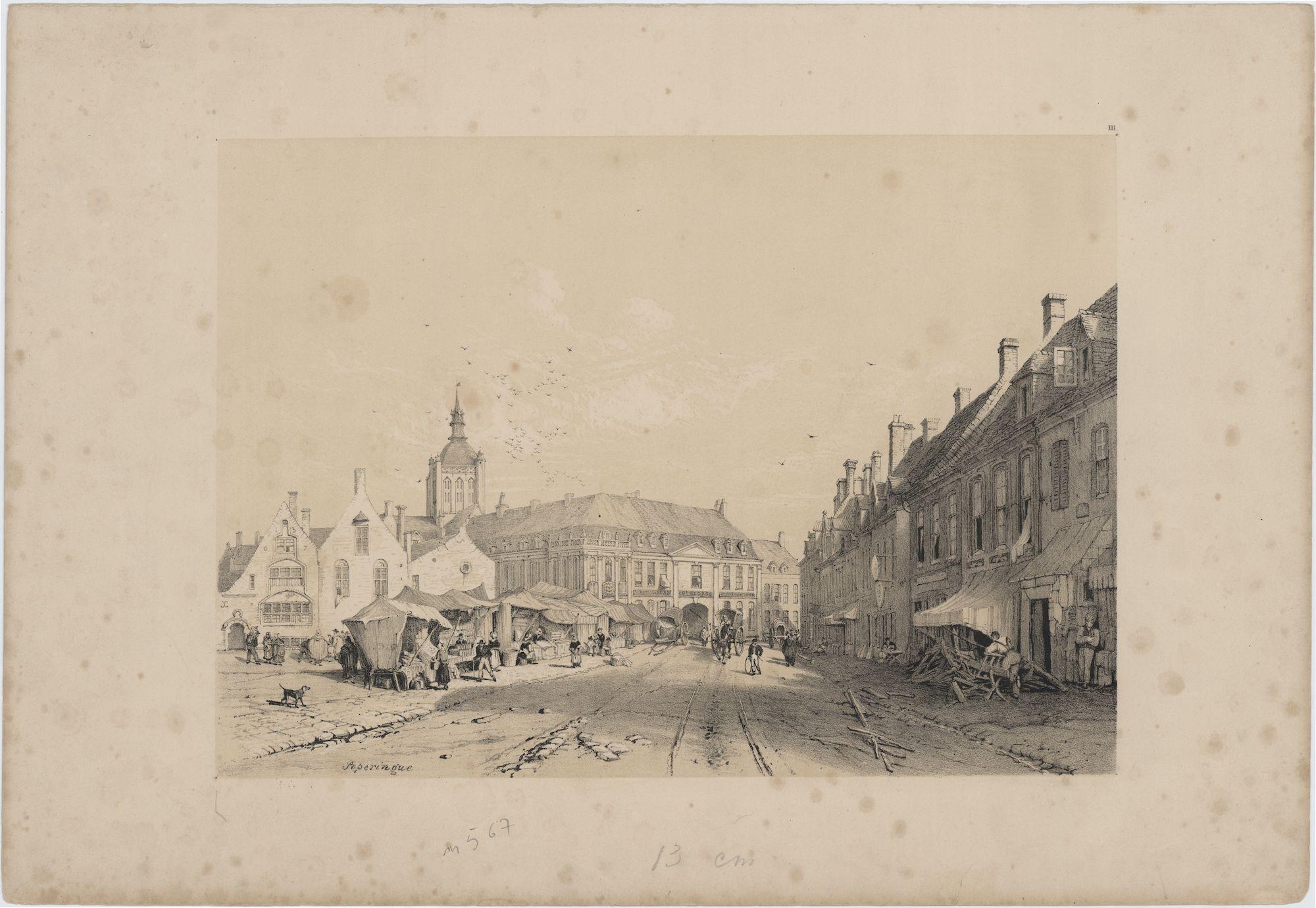 Westflandrica - Poperinge, de Grote Markt