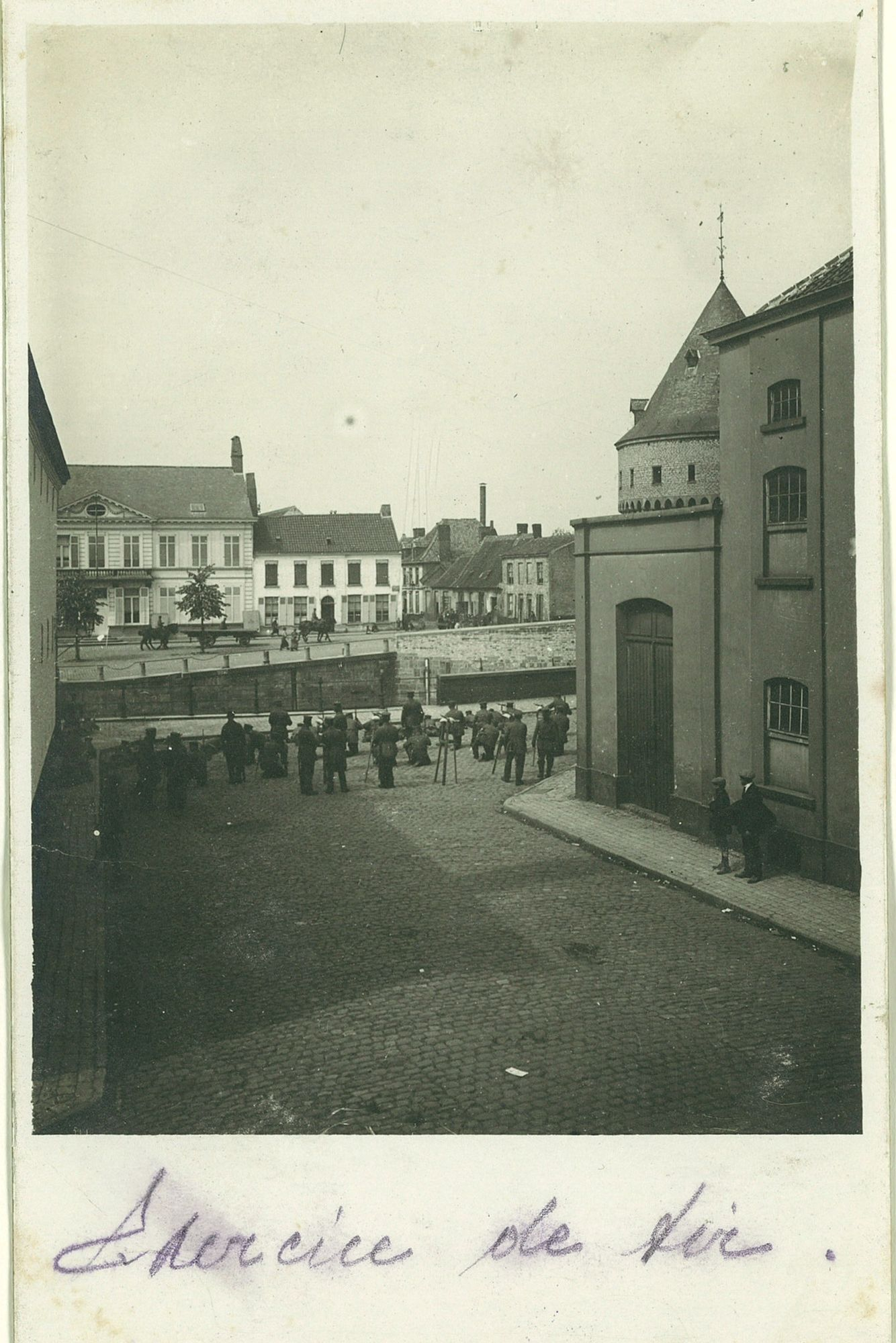 Schietoefeningen tijdens Wereldoorlog I