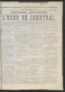 L'echo De Courtrai 1875-09-30
