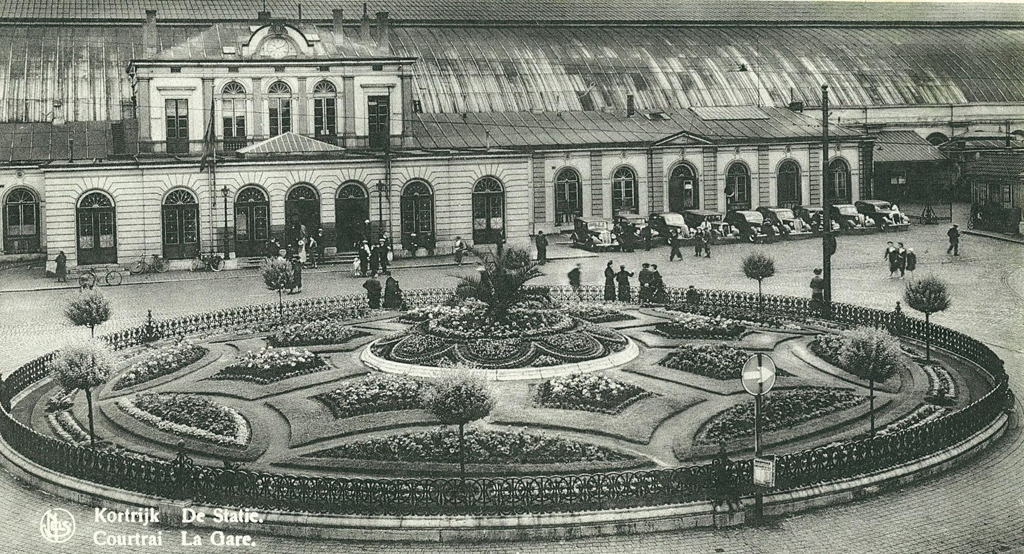 Het station