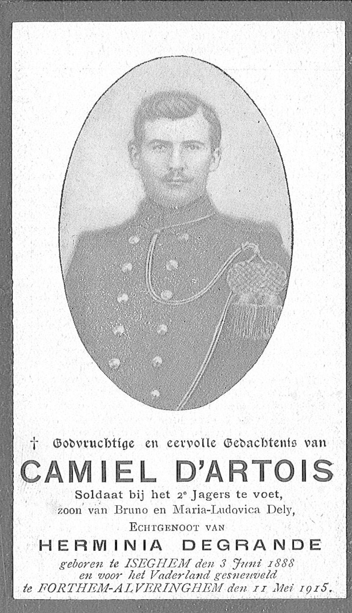 Camiel d'Artois
