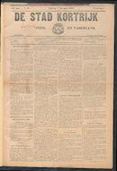 De Stad Kortrijk 1908-11-07
