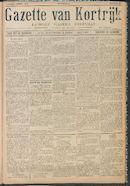 Gazette van Kortrijk 1916-04-01