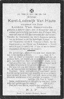 Van Haute Karel-Lodewijk