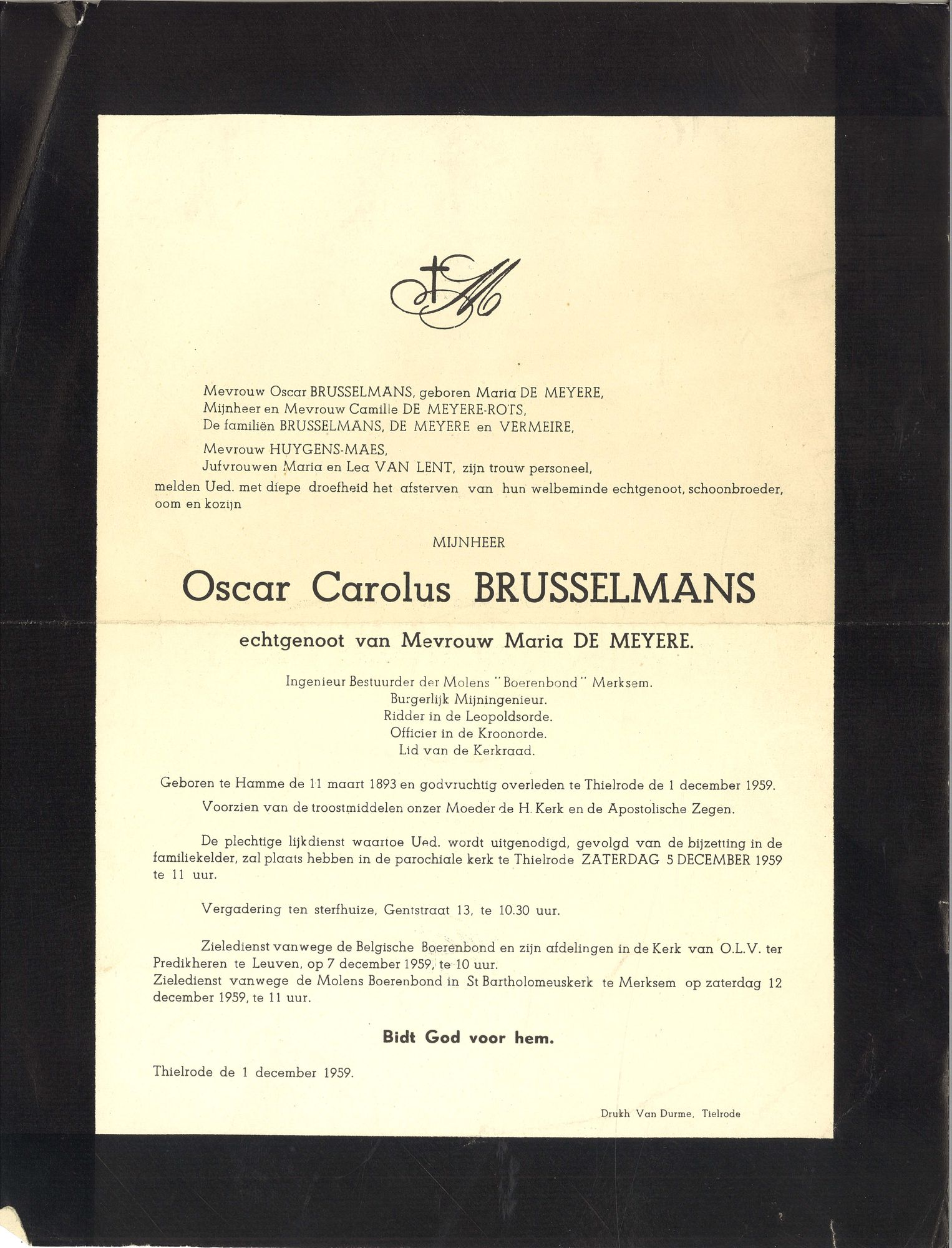 Oscar Carolus Brusselmans